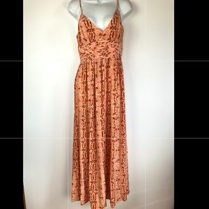 Tracy Reese New York Silk geometric Maxi Dress 4